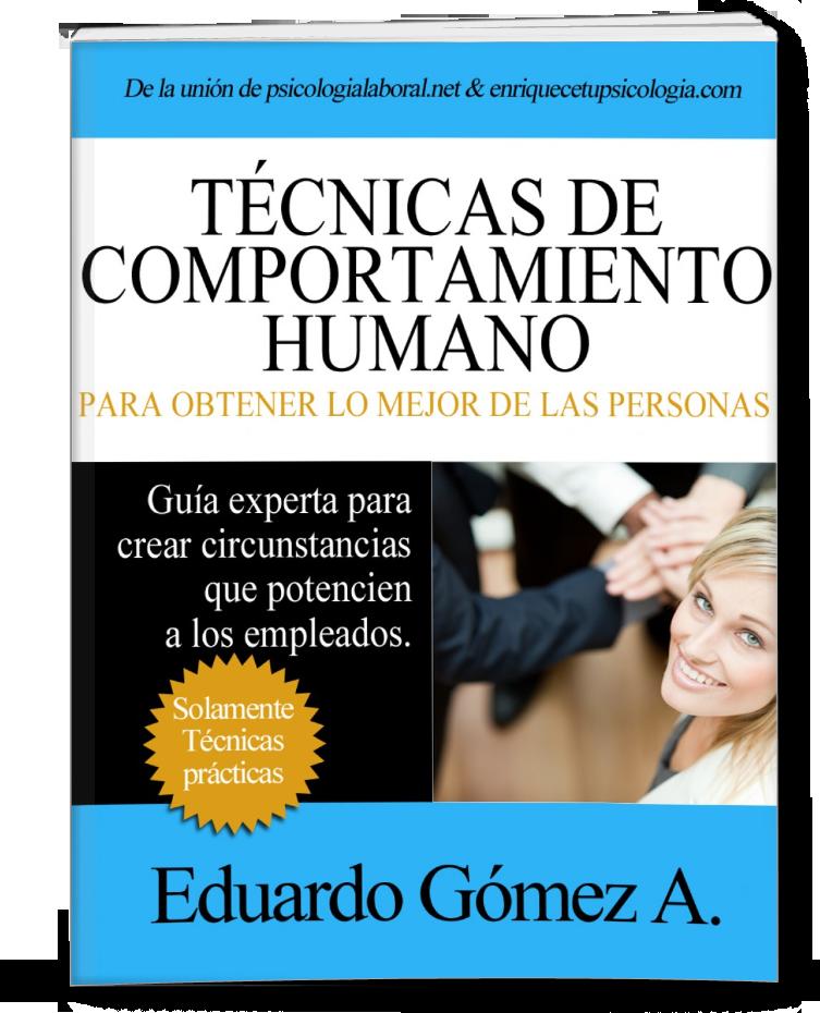 Libro Comportamiento humano técnicas ECover