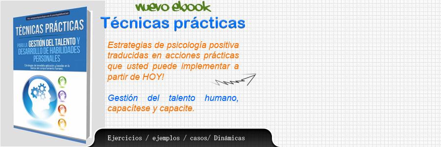 Técnicas talento humano libro