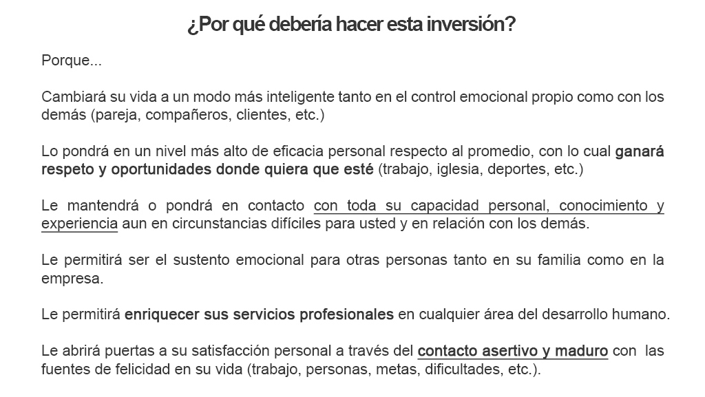 Beneficios de la inteligencia emocional alcances
