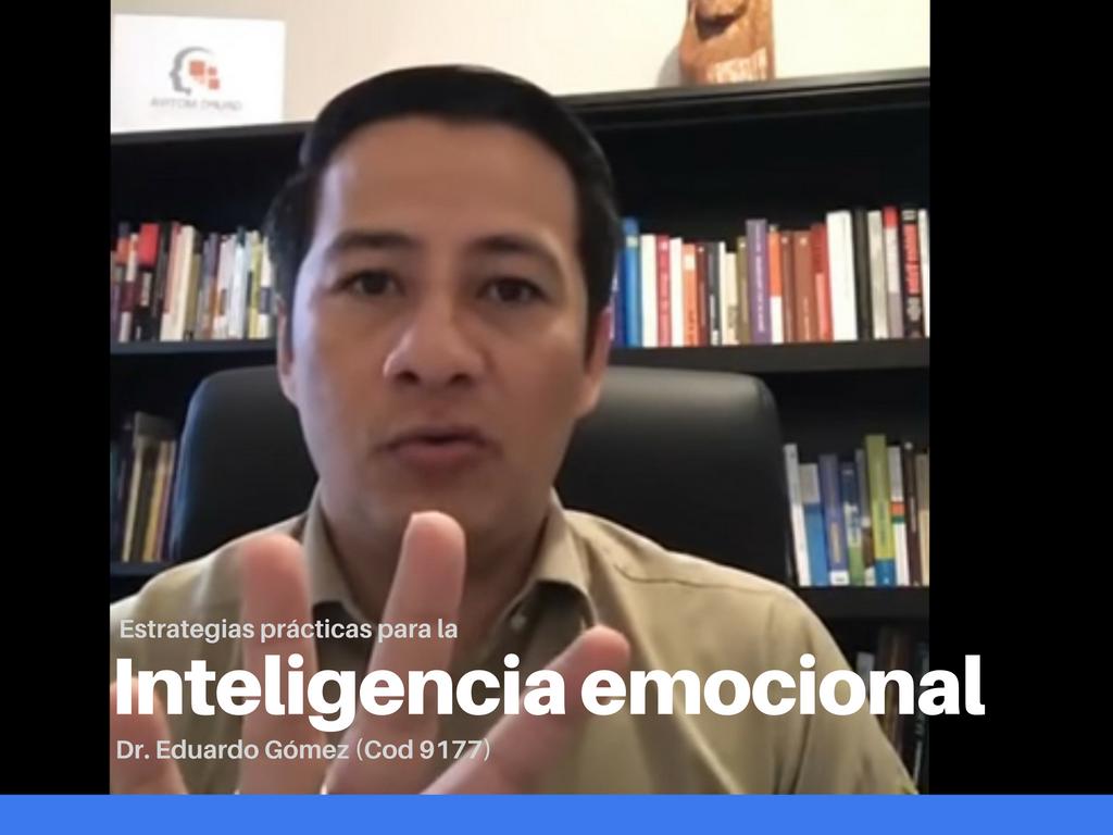 Inteligencia emocional en un mundo de tanto estrés.